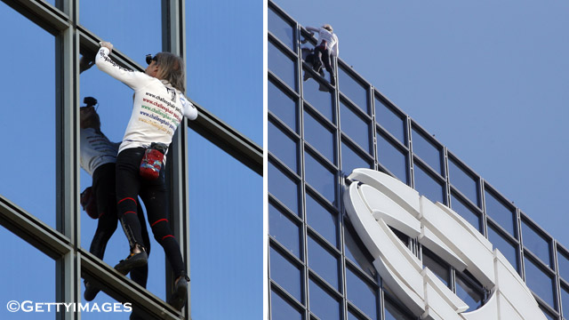 Alain Robert Spiderman