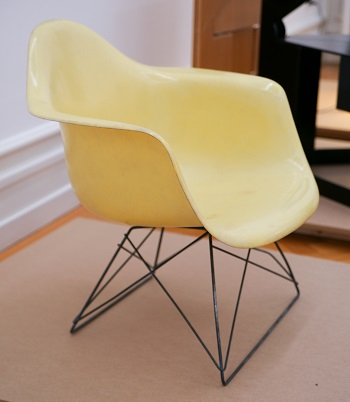 Plastic Armchair by Charles and Ray Eames