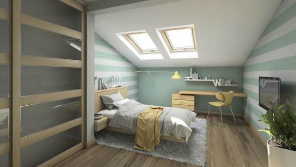 5 Einrichtungs-Tipps für Wohnungen mit Dachschräge