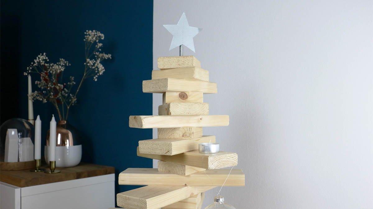 Holz Weihnachtsbaum Selber Machen
