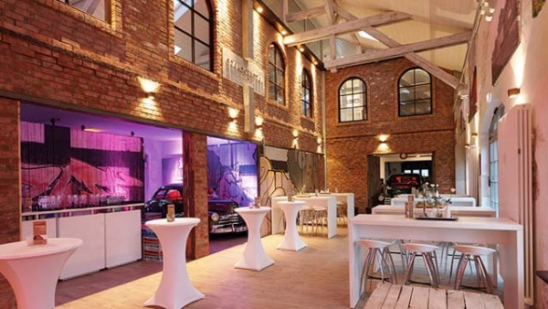 Ein alter Bahnhof als Eventlocation: Grand Central Bremen